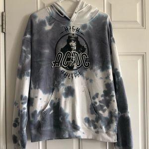AC/DC High Voltage Hoodie Sweatshirt XL
